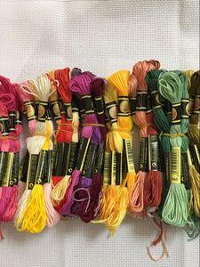 Топ CXC 10 штук нитки для вышивки крестом/Крест нитки для вышивания крестиком/пользовательские нитки цвета