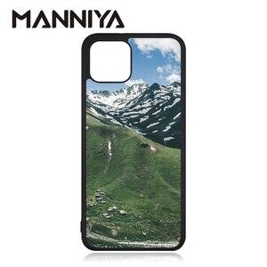 Image 5 - Manniya Voor Google Pixel 4 Pixel 5 Pixel 4XL 5XL Leeg Sublimatie Rubber Case Met Aluminium Inserts 10 Stks/partij