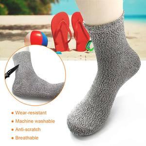 Socks Footwear Bare-Feet No-Slip Anti-Skid Running Women Pair Swim of Breathable Beach-Hppe