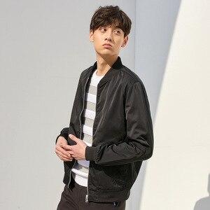 Image 4 - Metersbonwe Mens Casual Jackets for Men Jogger Fashion Jacket Men Overcoat Baseball Jackets Mens Streetwear Tops Plus Size