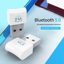 V5.0 USB Bluetooth Dongle Adapter for Computer Laptop Wireless Gamepad Audio Speaker Earphone Receiver Transmitter Transmisor