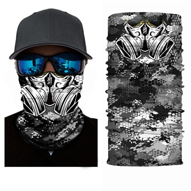 High-Jump Ice Fishing Scarf Bandana Mask Cap Sun Screen Mask Men Women Outdoor Cycling Hiking Running UV Bib Face Veil Headband