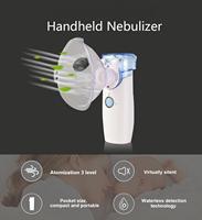 Mini Handheld Nebulizer Inhaler Silent Ultrasonic Portable Medical Steaming Inhaler Baby Kids Adult Health Care