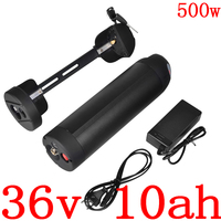 Livre dever 36 v 10ah 13ah 15ah ebike bateria 36 v garrafa de água bateria de lítio para 36 v 250 w 350 w 500 w bafang/8fun bbs01 bbs02 motor|36v 10ah|water bottle battery|36v water bottle battery -