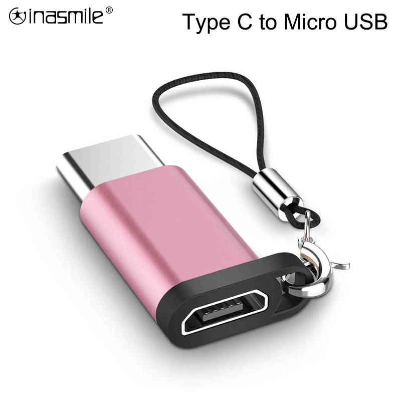 USB C Adapter Type C To Micro USB Charger Cable Converter For Samsung Galaxy S10 S9 Huawei P30 Mate 20 Pro Type-C USB