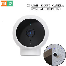 Orijinal Xiaomi Mijia akıllı IP kamera 1080P 2.4G Wifi 170 geniş açı 10m gece görüş hiyerarşik algılama akıllı Mi ev kamera