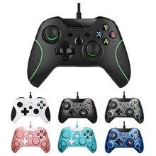 USB kablolu denetleyici Xbox One için Video oyunu JoyStick Mando için Microsoft Xbox One Slim Gamepad Controle Joypad için Windows PC