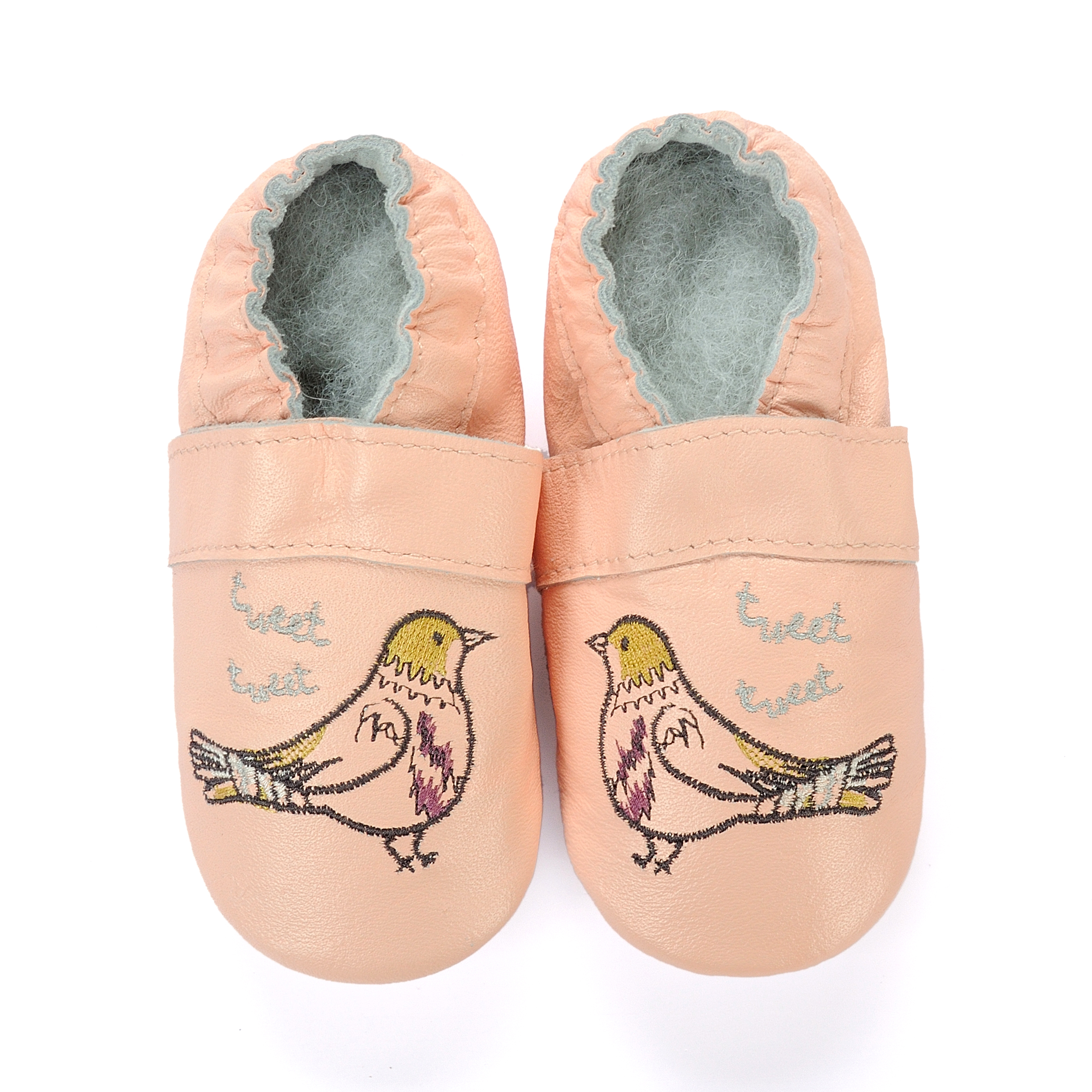 Baby Girl Boys Crawling Slippers Infant  Shoes Soft Leather Suede Sole First Walking Moccasins Skid-Proof Dinosaurs