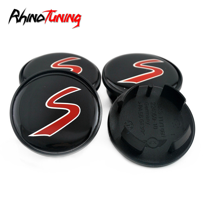 Wholesale 40pcs 54mm For Cooper S Wheel Hub Center Caps for Countryman JCW One R55 R56