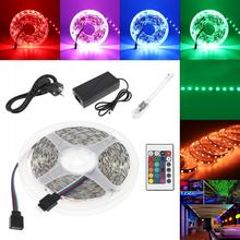 LED Strip Lighting Bare Board SMD 5050 60 LEDs/m 5m RGBW RGB LED Tape Diode Ribbon Wifi Controller DC 12V Adapter LED Strip Set