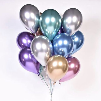 10PCS 12inch Glossy Metal Pearl Latex Balloons Thick Chrome Metallic Colors Inflatable Air Balloons Globos Metalicos Party Decor tanie i dobre opinie GIHOO CN (pochodzenie) ROUND Lateks Valentine s Day Wedding Grand Event Birthday Party Children s Day Thanksgiving Wedding Engagement