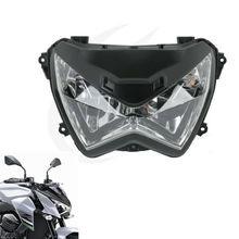 Motorcycle Clear and Durable Headlight Head Light Lamp For Kawasaki Z800 Z250 2013-2014 motorcycle headlight front headlamp light fits 2013 2014 for kawasaki z800 z250 dedicated