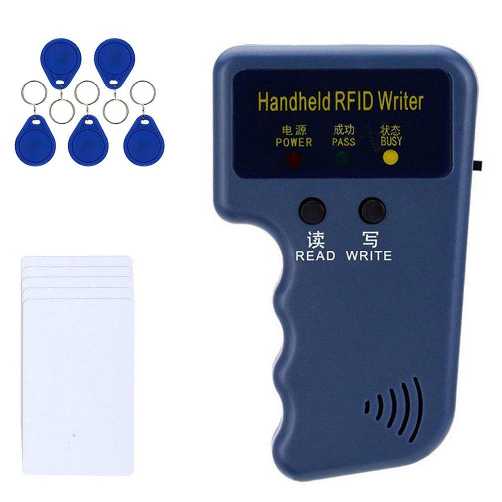 Считыватель RFID-карт, копировальный аппарат, Дубликатор, программатор, перезаписываемый идентификационный брелок, метки, Ручной 125 кГц, копи...