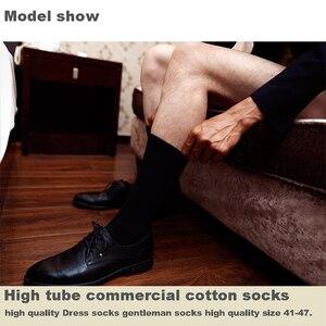 Image 3 - 2020 ชายชุดถุงเท้าผ้าฝ้ายผู้ชายการบีบอัดถุงเท้ายาวฤดูหนาวคุณภาพสูงสุภาพบุรุษ sokken 6 คู่ PLUS ขนาด EU41 48