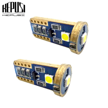 2x LED W5W T10 194 168 Led Parking Bulb Auto Wedge Clearance Lamp CANBUS White License Light Bulbs for kia rio 3 sportage