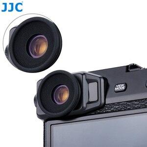 Image 5 - JJC 2 adet Eyecup mercek vizör siperliği Fuji Fujifilm X Pro2 XPro2 göz farı yumuşak silikon kauçuk kamera Eyecup koruyucu