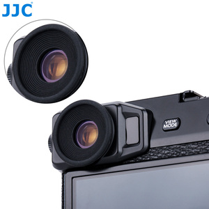Image 5 - JJC 2PCS Eyecupช่องมองภาพEyeshadeสำหรับFuji Fujifilm X Pro2 XPro2 Eyeถ้วยซิลิโคนยางซิลิโคนกล้องEyecup Protector