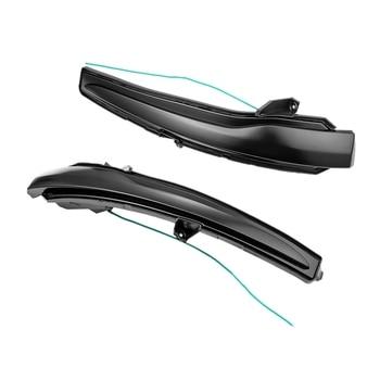 Car Rear View Mirror Indicator Led Dynamic Water Turn Signal For Mercedes-Benz C E S Glc Class W205 W213 W222 W253 W447