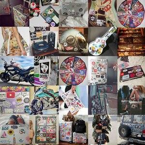 Image 5 - Autocollants choses étrangères, autocollants imperméables, en PVC, Skateboard, moto, vélo, guitare, jouets pour enfants 50pcs, Pack de 10/30/autocollant pour ordinateur portable