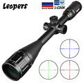 LEAPERS 6-24X50 Riflescope тактический оптический прицел красный зеленый охота точка зрения с подсветкой Retical Sight для охоты Ak 47