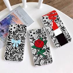 Сексуальный цветочный кружевной чехол для телефона с мандалой для iphone 12 pro max mini 11 pro XS MAX 8 7 6 6S Plus X 5S SE 2020 XR