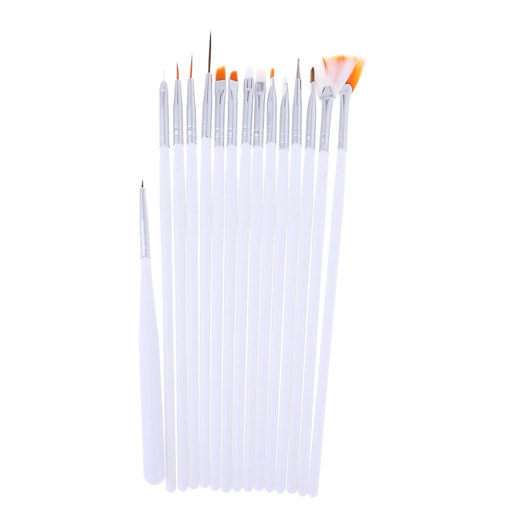 15pcs Professional Model Coloring Pen Model Tools 12.5-20cm Length