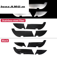 For Mercedes Benz GLE W166 GLE coupe C292 350d amg protective door scratch mark dirty Trim Cover Sticker Accessories
