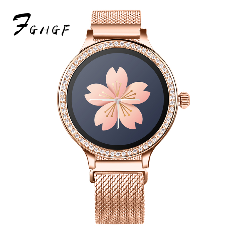 FGHGF 2019 new ladies <font><b>M8</b></font> <font><b>smart</b></font> bracelet <font><b>watch</b></font> heart rate sphygmomanometer menstrual period reminds fashion healthy movement image