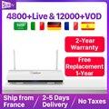 Leadcool France IPTV Caixa De TV IP Android 8.1 Ano SUBTV 1 IUDTV QHDTV Código Holandês Bélgica Espanha Italia IPTV Francês Caixa De IPTV Arábica