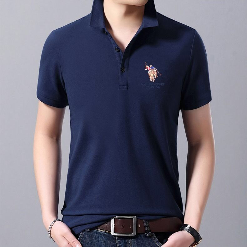 Plus Size M-3XL High Quality   Polo   Shirt Men Cotton Short Sleeve shirt Brands jerseys Men   Polo   Shirt Tops