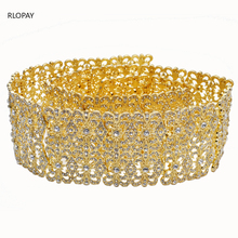 Belt Women Jewelry Bride Wedding-Dress Morocco-Style for Luxury Gold Waist-Chain Arabic