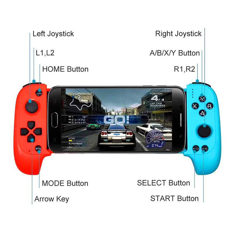 Updated Saitake 7007f Wireless Bluetooth Game Controller Telescopic Gamepad Joystick For Samsung Xiaomi Huawei Android Phone Pc Replacement Parts Accessories Aliexpress