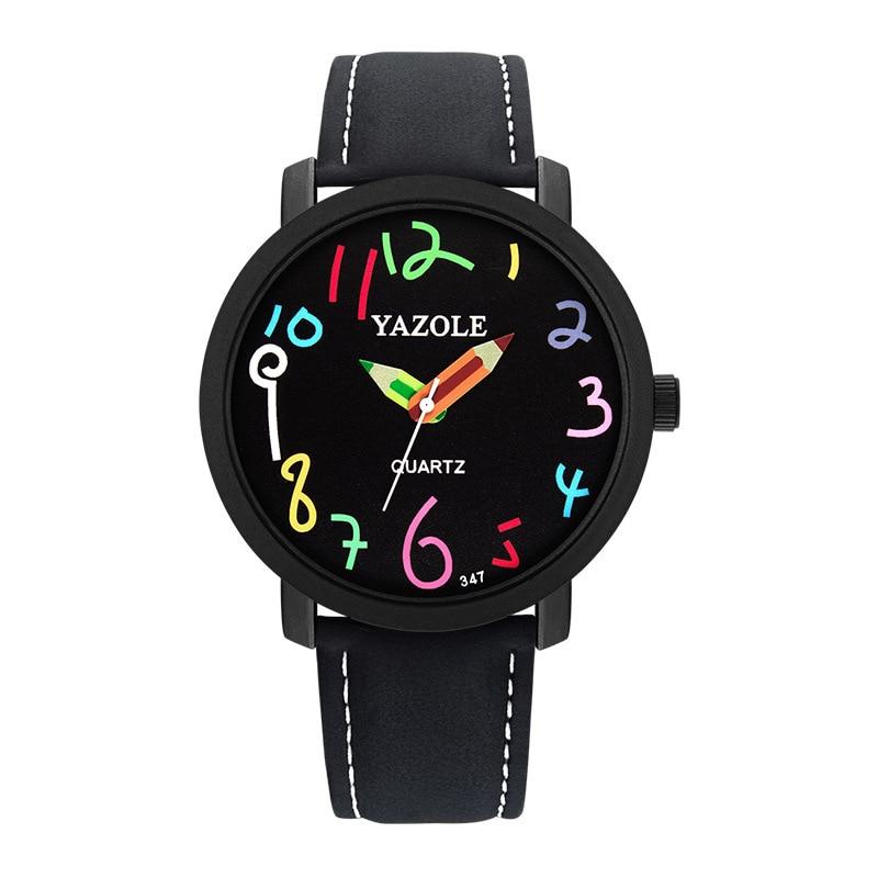 2019 New Reloj Children Watches For Girls Cartoon Frozen Leather Student Girl Watch Cute Quartz Watch Birthday Gift Montre Enfan