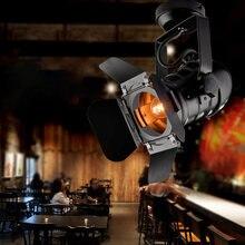 E27 Винтаж лазерный проектор лампа светодиодный сценический