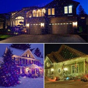Image 5 - ALIEN RGB Ster Outdoor Waterdicht Kerst Laserlicht Projector Stippen Effect Garden Home Xmas Boom Landschap Show Verlichting