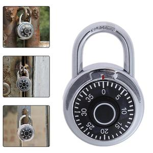 Dial Luggage Locker Hardened Steel Shackle Dial Combination Travel Lock for Luggage/Bag/Backpack/Drawer Perfect for lockers