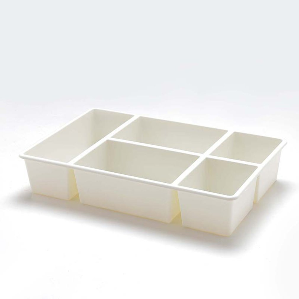 Five Grid Tabletop Cosmetics Storage Box