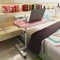 Складной Съемный столик для ноутбука, столик-подставка для ноутбука, прикроватный диван-кровать, регулируемый портативный компьютерный пр...
