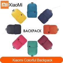 حقيبة ظهر جديدة أصلية من شاومي mijia 10L حقيبة ظهر رياضية مريحة في المناطق الحضرية حقيبة ظهر خفيفة الوزن مقاس صغير للجنسين يمكن حملها على الكتف
