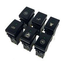1PC musik Recorder Monitor Elektronische hund Radar Parkplatz Sensor Scheinwerfer Schalter Taste Für Suzuki Jimny 07 15