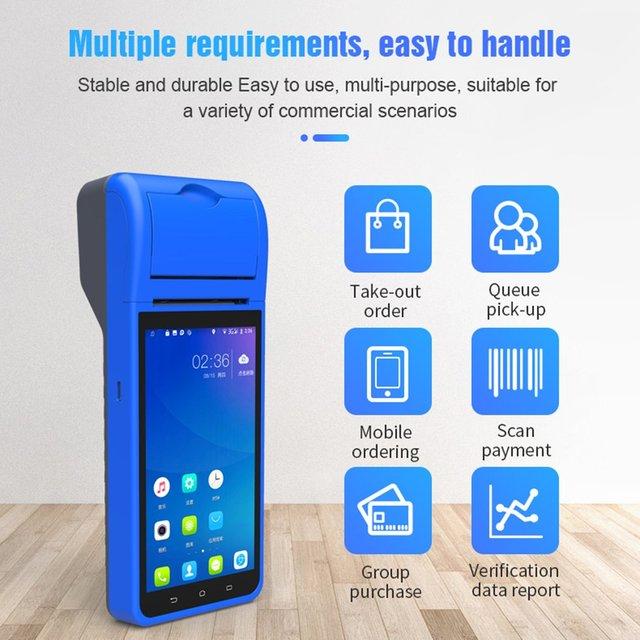 Terminal Handheld Smart Pos Wireless 58Mm Bluetooththermal Printer 2