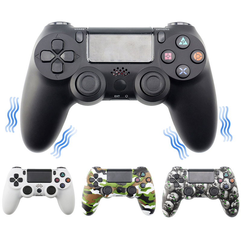 Bluetooth Wireless Gamepad Controller For Sony PS4/PS3 USB Wired Joystick Controle For Dualshock 4 Joypad For PlayStation 4(China)
