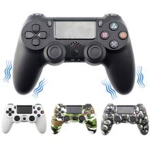 بلوتوث لوحة ألعاب لاسلكية تحكم لسوني PS4/PS3 USB السلكية المقود تحكم ل Dualshock 4 Joypad ل Ps4 للكمبيوتر WIN/7/8