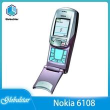 Nokia 6108 Refurbished GSM Mobile-Phones Cheap Original 2G Good-Quality