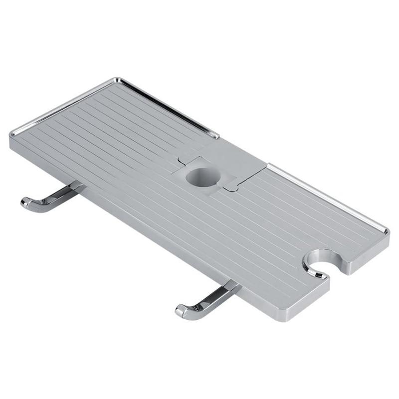 Shower Caddy Shelf Rack Organizer For Soap Shampoo Conditioner  No Drilling Wall Mounted Bathroom Storage Shelf|Storage Shelves & Racks| |  - title=