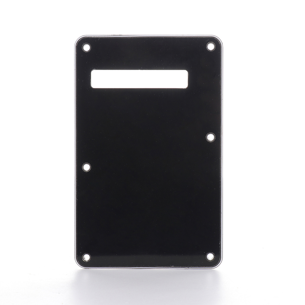 Pickguard Tremolo Cavity Cover Backplate Back Plate 3Ply For Fender Stratocaster Strat Modern Style Electric Guitar High Quality