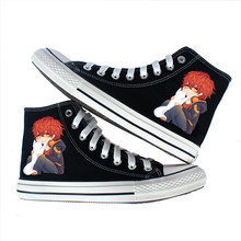 anime Mystic Messenger Canvas shoes Inuyasha cosplay Flat