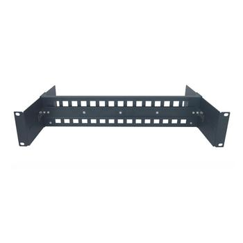 2U 19 inch Adjustable rack mount din rail Chassis in Cabinet 19 rackmount din rail Bracket for 35mm din rail mount Devices 2u 6 disk hot plug server chassis rm21706 2u industrial chassis