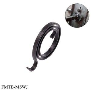 Image 3 - Ressort de remplacement pour bouton de porte loquet de poignée réparation de bobine interne, serrure de broche, ressort de torsion, section plate fil 2.5 10 pièces