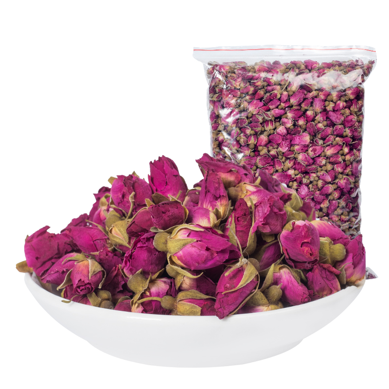 Flower Tea Rose Tea Pingyin Rose Bud Bud Flower Bud Dry-brewed Tea Beauty and Beauty Tea 100g